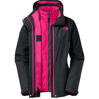 The North Face Women's Jackets & Vests INSULATED 3-IN-1 JACKETS WOMEN'S CINNABAR TRICLIMATE® JACKET