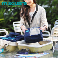 Stuff Bag Waterproof Zippers Bags Multi-functioned Storage Travel Tote Bag [6432400966]