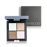 MY BOON 4 Colors Long-Lasting Eyeshadow Palette Kit