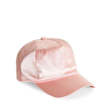 EPTM LA Pink Satin Trucker Hat
