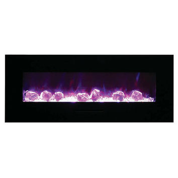 "Amantii 57"" Built-in / Wall Mounted Electric Fireplace (WM-FM-48-5823-BG)"