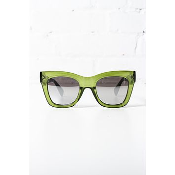 AJ Morgan Close Up Sunglasses - Green
