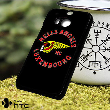 Hells Angels Logo HTC One M7, One M8, One M9, One M9 Plus, One M10 Case