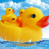 Swimming Pool /bath cute Ducky toy accompany with cute children to bathe
