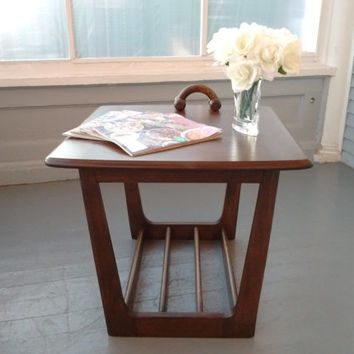 Mid Century Modern, End Table, Side Table, Lamp Table, Vintage, Living room Furniture, Home Decor