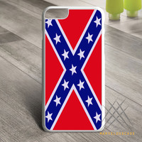 Rubber Confederate Rebel Flag Custom case for iPhone, iPod and iPad