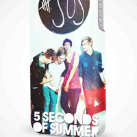 5 Seconds of Summer 5SOS Little Daisy iPhone 4/4S, 5/5S, 5C Full Wrap 3D Case