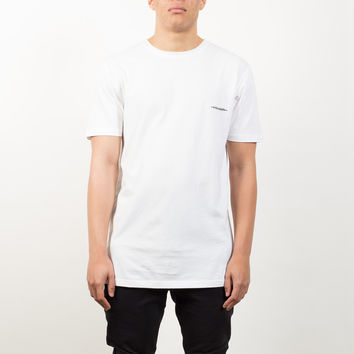 Villain Longline T-Shirt - White