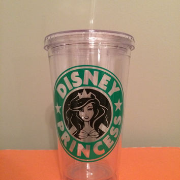 Starbucks Disney Princess Tumbler | 4 Options