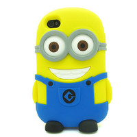 DESPICABLE ME MINION HAPPY IPHONE CASE*