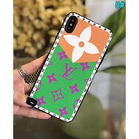 LV Louis Vuitton Fashion Print iPhone Phone Cover Case For iphone 6 6s 6plus 6s-plus 7 7plus iPhone X XR XS XS MAX 5#