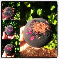 420 Volcano Detox Buzzy Bath Bomb with Activated Charcoal