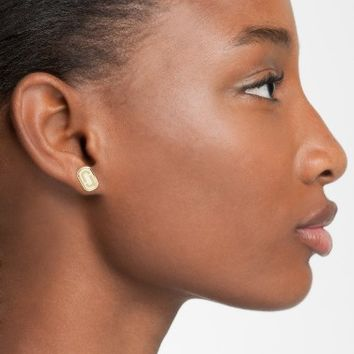 MARC JACOBS Icon Enamel Stud Earrings | Nordstrom