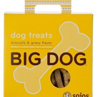 Sojos Big Dog Biscuits & Gravy Natural Treats 12 oz