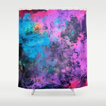 digital art 1 Shower Curtain by Lionmixart