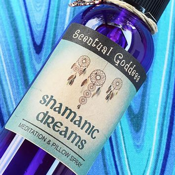 SHAMANIC DREAMS Pillow Spray for Vivid Dreams & Visions
