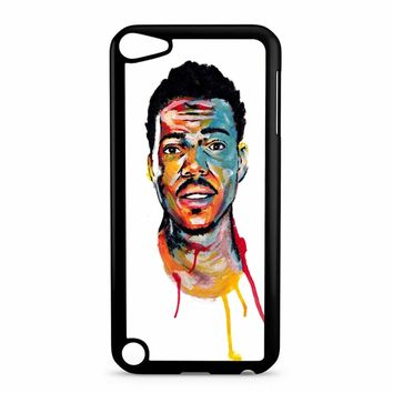 Acrylic Painting Of Chance The Rapper iPod Touch 5 Case