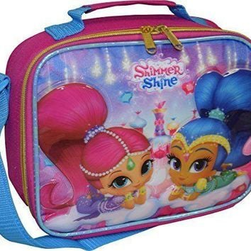 Disney Princess Shimmer and Shine Insulated Girls Lunch Bag/ Box