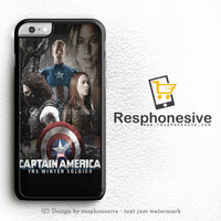 Captain America The First Avenger iPhone 6 Plus Case