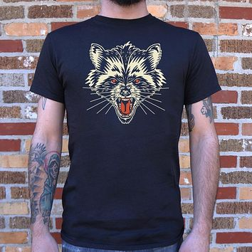 Raccoon Rage Men's T-Shirt