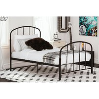 Dorel Home Lafayette Metal Bed, Multiple Sizes and Colors - Walmart.com