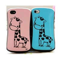 Lovely Reindeer Pattern Case for iPhone 4/4s