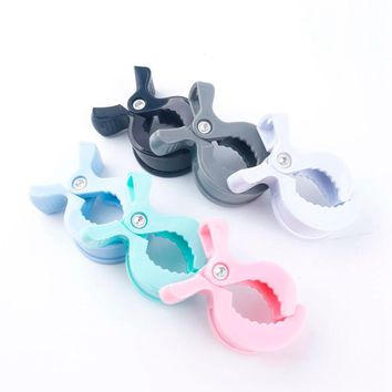 Blanket Clips 2PCS Play Gym Baby Accessories Lamp Pram Stroller Pegs DIY To Hook Muslin and Toys Seat Cover Car Baby Teether