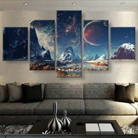Mountains & Space