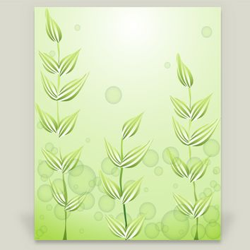 Underwater Plants Wall Cling by Texnotropio on BoomBoomPrints