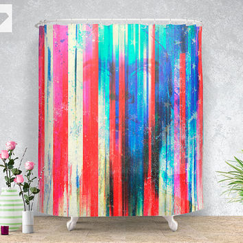 Dream big Shower curtain