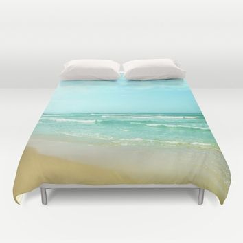 Vintage summer Duvet Cover by Guido Montañés