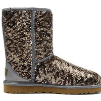 LFMON UGG 1003353 Flipped Over Sparkles Women Men Fashion Casual Wool Winter Snow Boots Leopard