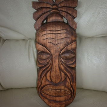 10% discount coupon code redhot Traditional African Mask Face Handmade Carved Wood Wall Hanging Art Decor Gift Idea ReAdy To Ship