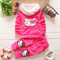 Autumn/Winter baby girls clothing sets