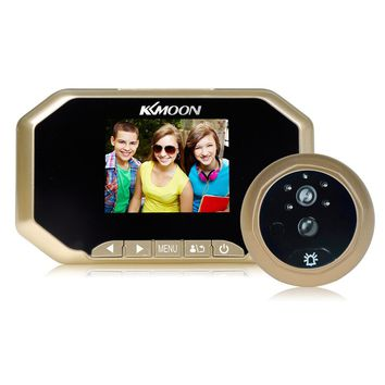 3 inch LCD 720P Digital Doorbell Peephole Viewer 160 Degree PIR Door Eye Doorbell IR Camera Motion Detection Video Recording