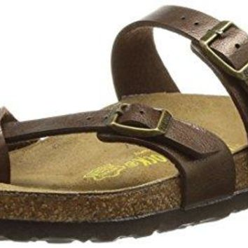 Birkenstock Womens Mayari Graceful Toffee Birko-Flor Sandals 38 EU