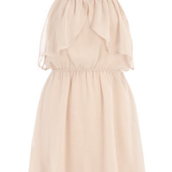 Nude frill strappy dress - View All - New In - Dorothy Perkins