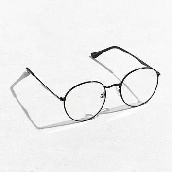 Flat Metal Round Readers - Urban Outfitters