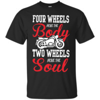 Motocross T Shirt Two Wheels Move The Soul