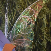 Medium Simple Tinkerbell Inspired Iridescent Fairy Wings