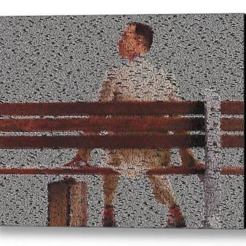 Tom Hanks Forrest Gump Quotes Mosaic INCREDIBLE FramedLimited Edition Art w/COA