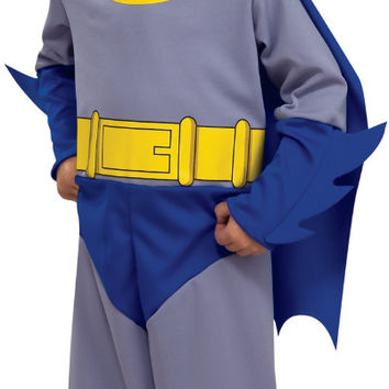 batman brave & bold batman infant-toddler costume