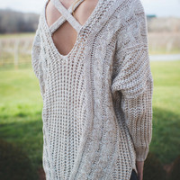 Finding Your Way Sweater
