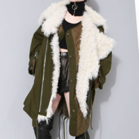 Ace Fur Parka Coat