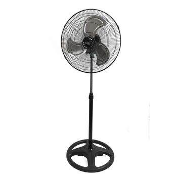 Vie Air 18 Industrial Heavy Duty Pedestal Oscillating Metal Stand Fan