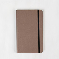 Shinola Hard Linen Cover Journal - Medium