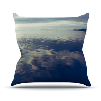 "Ann Barnes ""Cloud Atlas"" Water Throw Pillow"