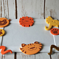 Zoo Themed Photo Frame Craft Kit