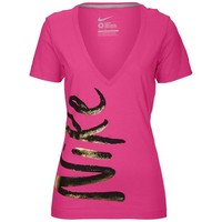 Nike Sidekick V-Neck Short Sleeve T-Shirt - Women's