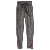 Xhilaration® Juniors Zipper Detail Sweatpant - Charcoal